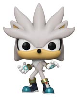 Pop Games Sonic the Hedgehog 30th Anniversary Silver Vinyl Figure