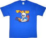 Speed Racer Japanese Blue T-Shirt XL