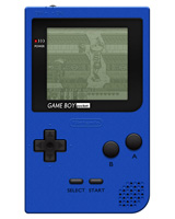 Nintendo Game Boy Pocket Blue System