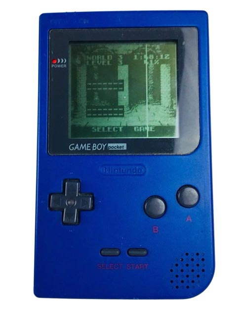 Nintendo Game Boy Pocket Blue System