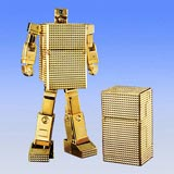 Soul of Chogokin 6 Piece Gold Lightan Wooden Box Set