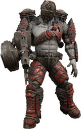 Gears of War 2 Series 4 Grenadier Flame Thrower Action Figure