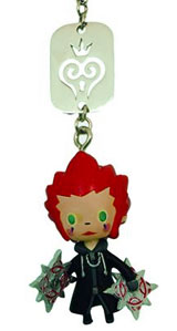 Kingdom Hearts Axel Mascot Strap