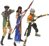 Final Fantasy XIII Play Arts Kai Volume 2 Action Figures (3 Figure Set)