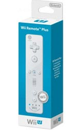 Nintendo Wii Remote Plus White by Nintendo