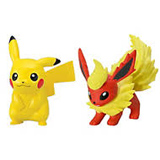 Pokemon X & Y Pikachu Vs. Flareon