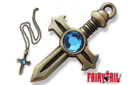 Fairy Tail Fullbuster Cross Necklace