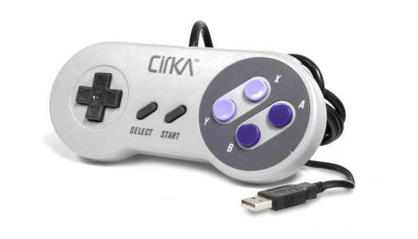 PC/MAC SNES CirKa Retro USB Controller
