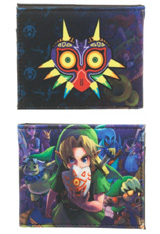 Legend of Zelda: Majora's Mask Sublimated Bi-Fold Wallet