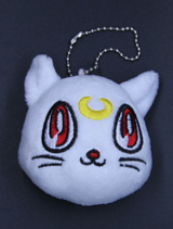 Sailor Moon Artemis 3 Inch Plush Keychain