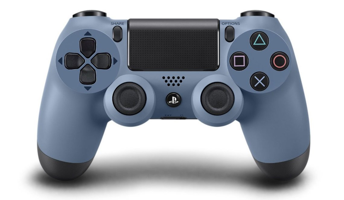 PlayStation 4 DualShock 4 Controller Gray Blue