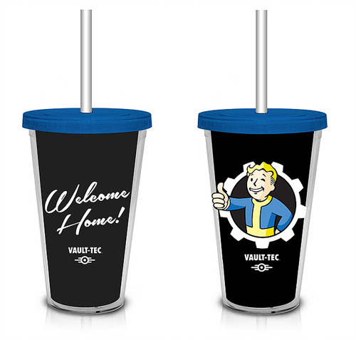 Fallout Black Vault Boy Carnival Cup