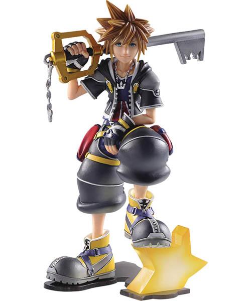 Kingdom Hearts II Sora Static Arts 6 Inch Statue