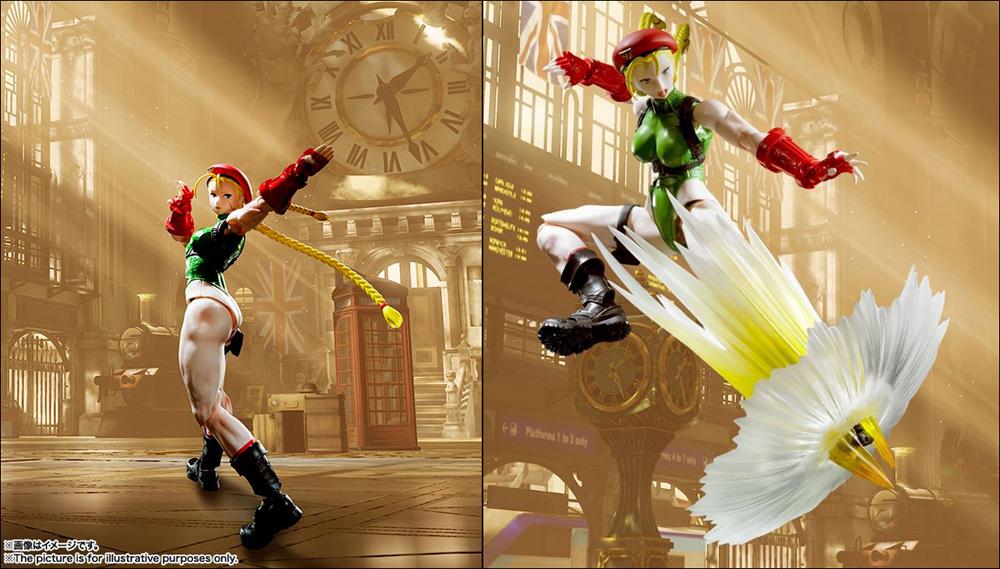 Street Fighter V Cammy S.H.Figuarts 6