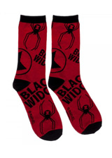 Marvel Black Widow Jrs. Crew Socks