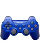 Playstation 3 Dualshock 3 Controller Blue Bulk Packaging