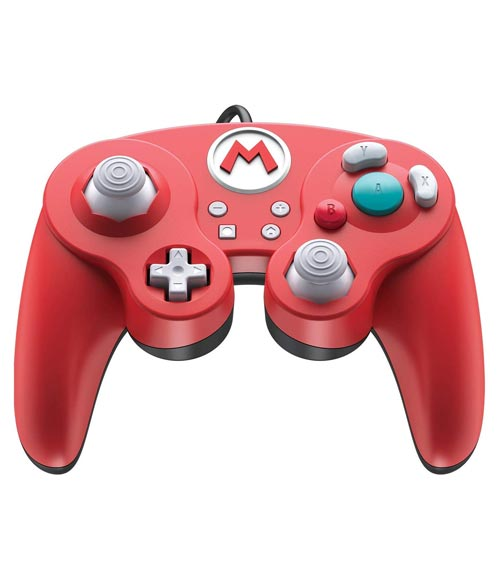 Nintendo Switch Wired Fight Pad Pro Controller: Super Mario