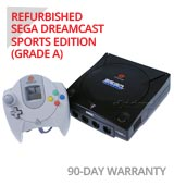 Sega Dreamcast Sports Limited Edition System with White Controller - Refurbished
