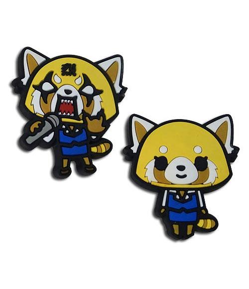 Aggretsuko Happy & Competitive Pin Set