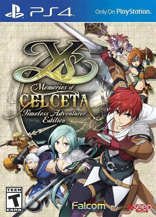 Ys: Memories of Celceta Timeless Adventurer Edition
