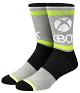 Xbox Icons & Patterns Crew Socks 3 Pack