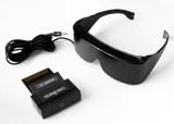 Sega Master 3-D Glasses with Adaptor