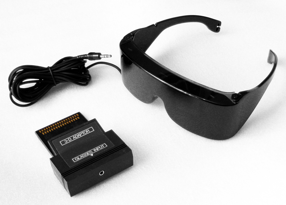 Sega Master 3-D Glasses with Adaptor