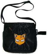 Fruits Basket Kyo Face Black Zip Pac Bag