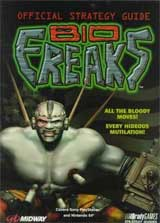 Bio Freaks Official Strategy Guide Book