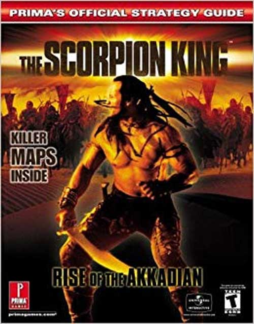 The Scorpion King Official Strategy Guide Book