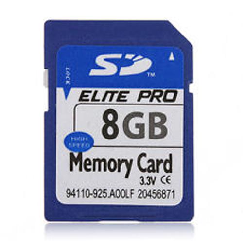 Nintendo Wii 8GB SDHC Memory Card