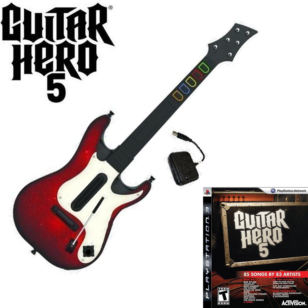 Guitar Hero 5 Wireless Controller