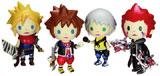 Kingdom Hearts Avatar Trading Arts Set of 4