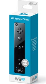Nintendo Wii Remote Plus Black by Nintendo