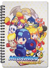 Mega Man Powered Up Group Notebook