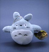 My Neighbor Totoro with Cat Bus 4 Inch Plush Keychain