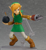 Legend of Zelda Link Between World Link Deluxe Ver Figma Action Figure