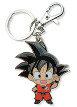 Dragon Ball Z Child Goku Metal Keychain