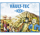 Fallout Vault-Tec Fleece Blanket