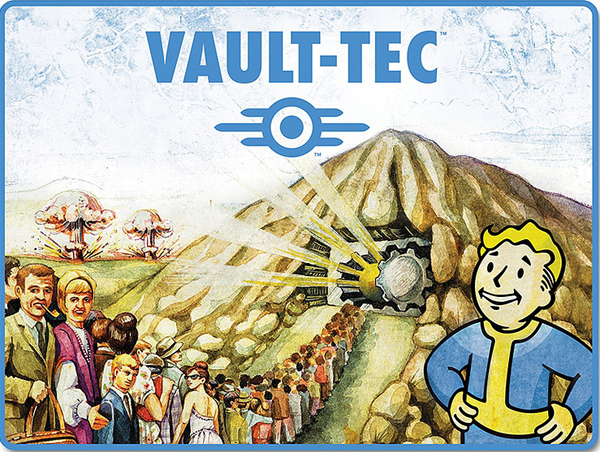 Fallout Vault Tec Fleece Blanket