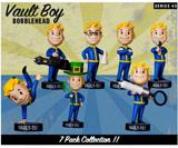 Fallout 3 Vault Boy Bobblehead Vinyl Figures Series 3 7PC Set