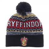 Harry Potter Gryffindor Cuff Pom Beanie