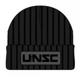 Halo UNSC Patch Black Cuff Beanie