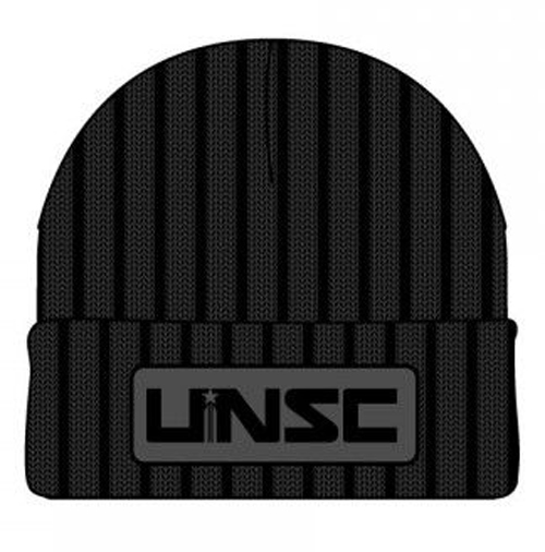 Halo UNSC Patch Black Cuff Beanie