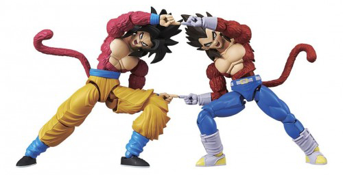 Dragon Ball GT Super Saiyan 4 Goku 7 Inch Model Kit 2