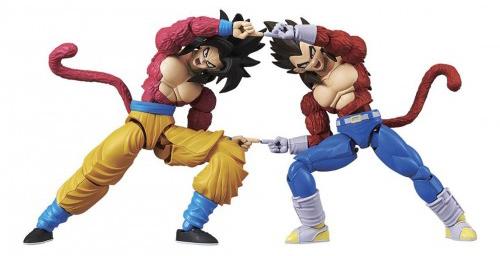 Dragon Ball GT Super Saiyan 4 Goku 7 Inch Model Kit 2