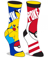 Pokemon Reversible Jrs. Crew Socks