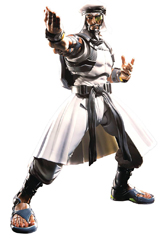 Street Fighter V Rashid S.H.Figuarts Figure