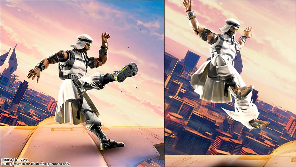 Street Fighter V Rashid S.H.Figuarts 6