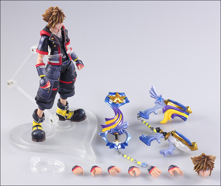 Kingdom Hearts 3 Sora Bring Arts 6
